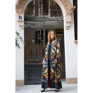 Steal The Show Abaya - Black