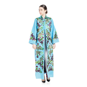 Steal The Show Abaya - Turquoise