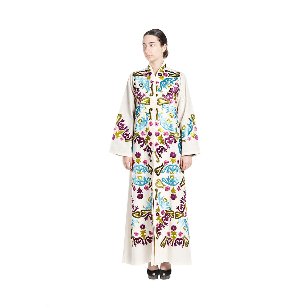 Steal The Show Abaya - Off-white