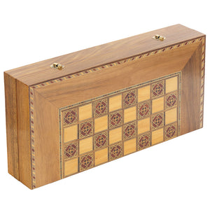 Timeless Backgammon & Chess Board
