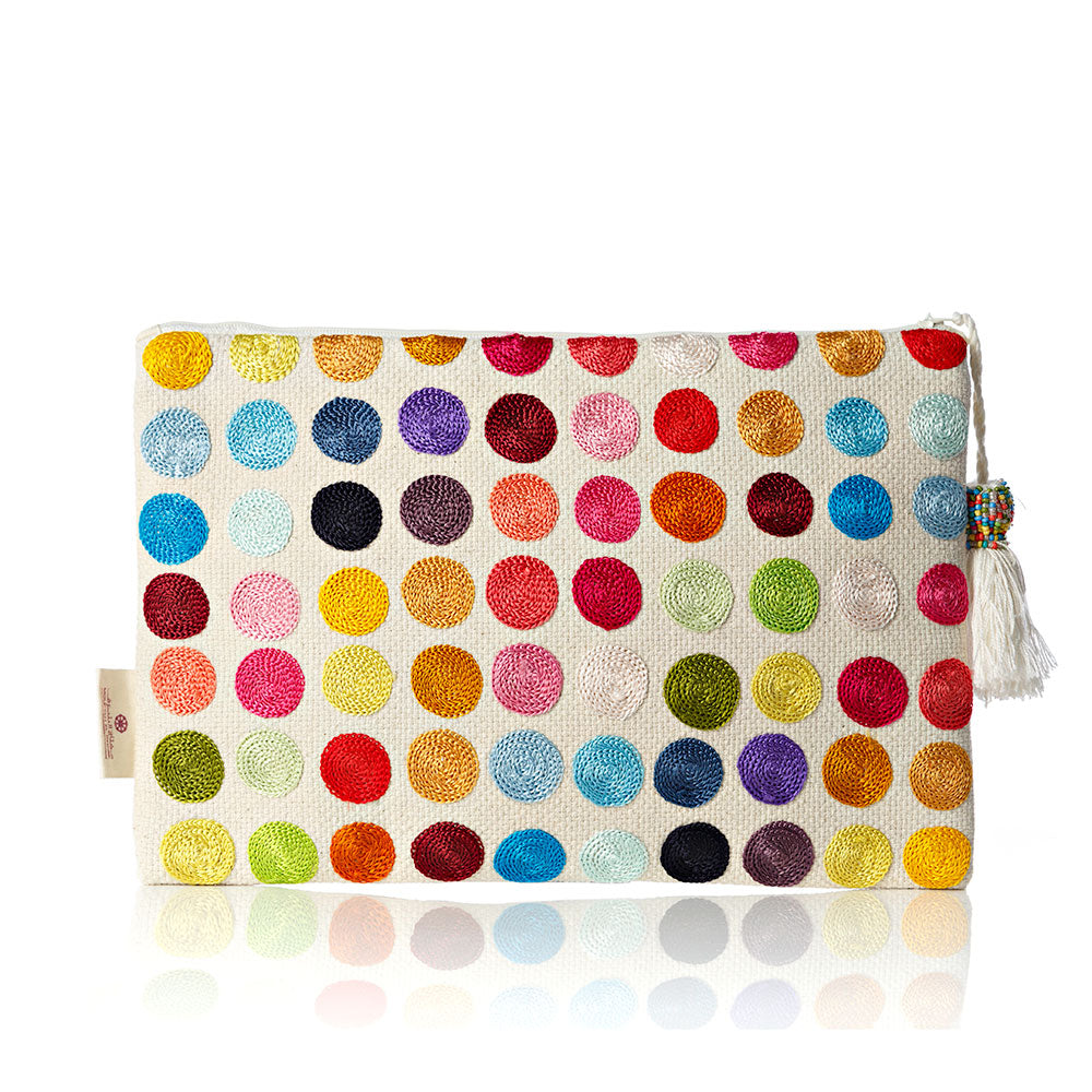 Colors of Life Pouch - Circles