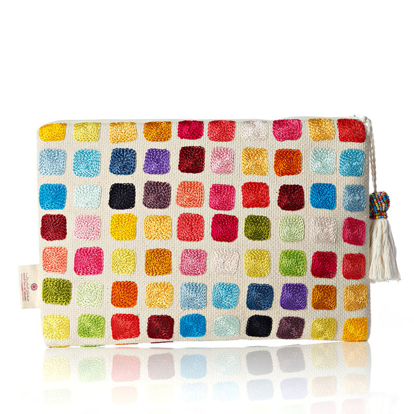 Colors of Life Cotton Pouch