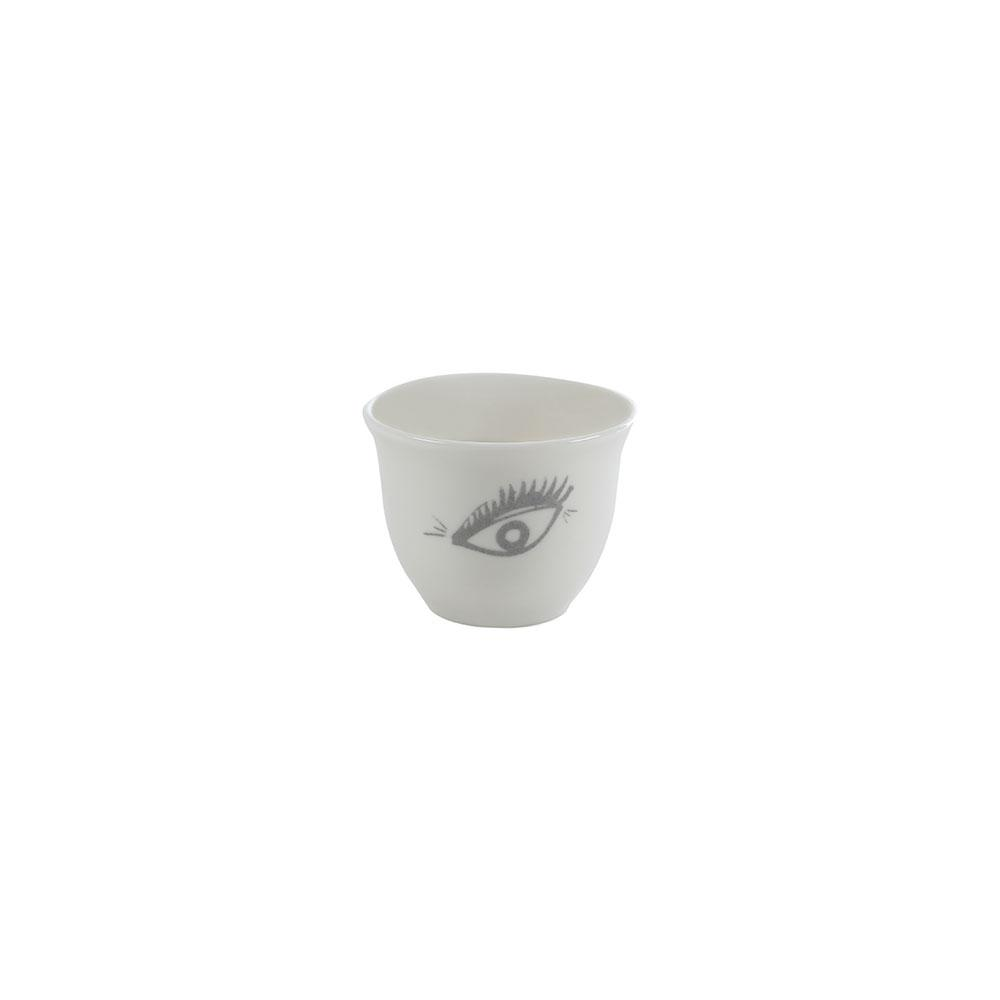 Mouftah El Chark Eye Coffee Cups - Set of 6
