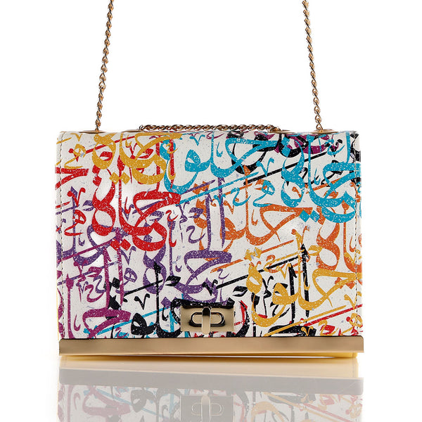 Arabic Calligraphy Crossbag