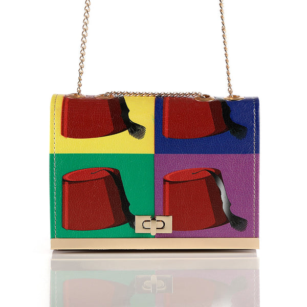 Colorful Tarbouch Crossbag