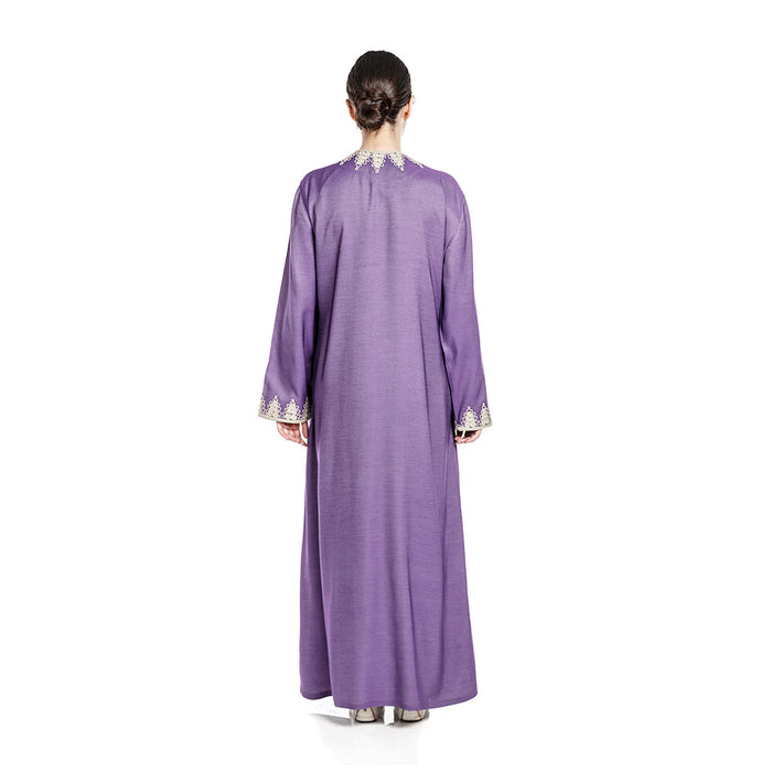 Relax In Style Abaya - Lavender