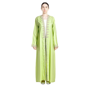 Relax In Style Abaya - Pistachio