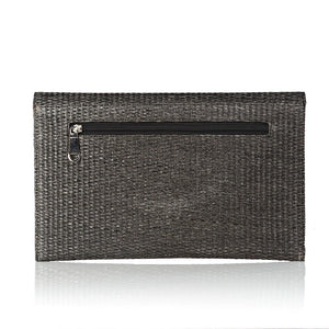 Evil Eye Clutch - Grey