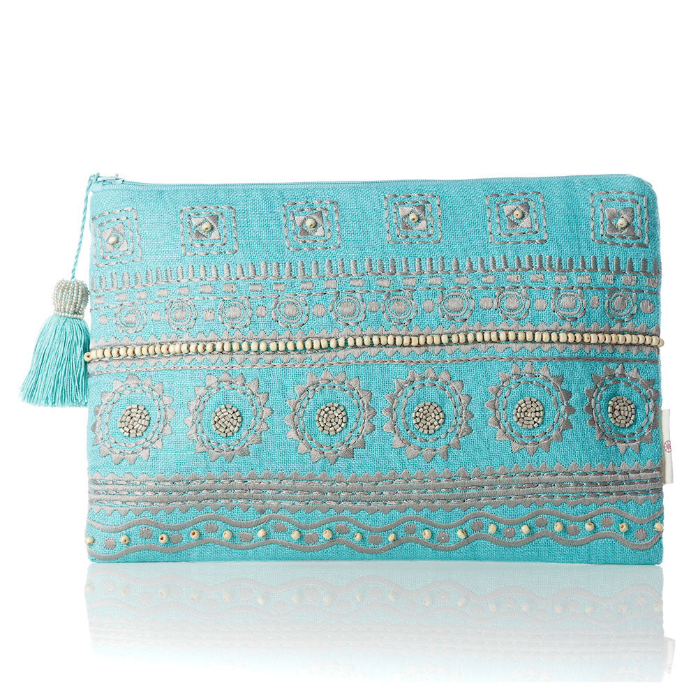 Turquoise Skies Pouch