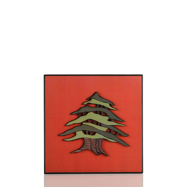 Cedar of Lebanon Wood Poster