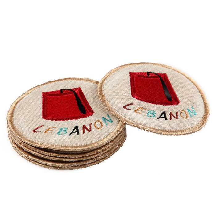 Tarbouch Coasters - Set of 6