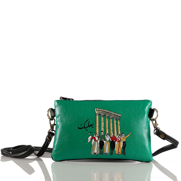Green Baalback Crossbag