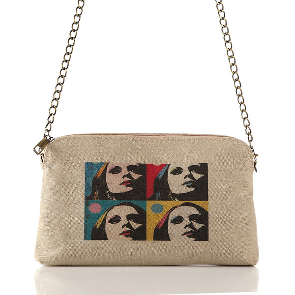Beige Fairouz Crossbag