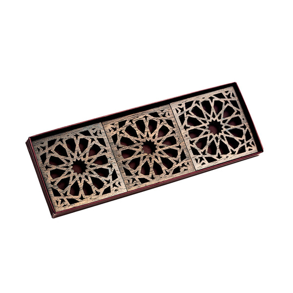Moucharabieh Coasters - Brown