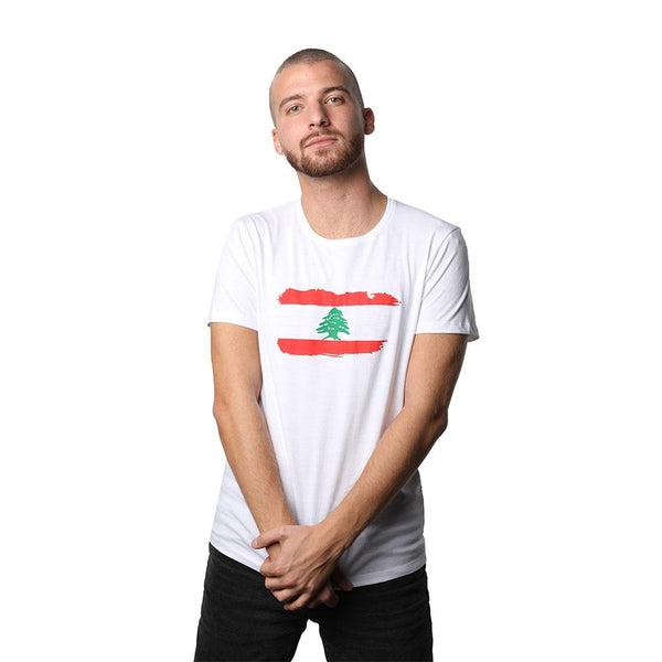 Lebanon White Men's T-shirt