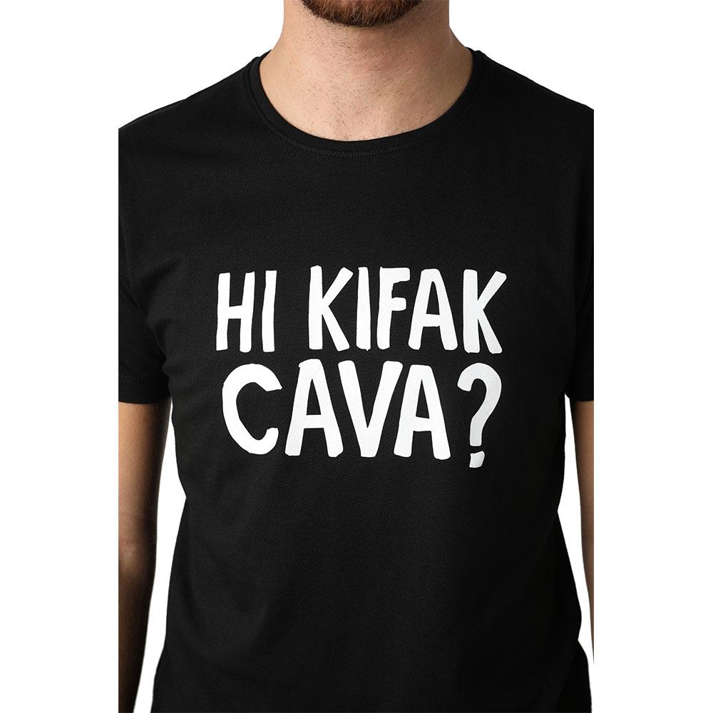 Hi Kifak Cava Black Men's T-shirt
