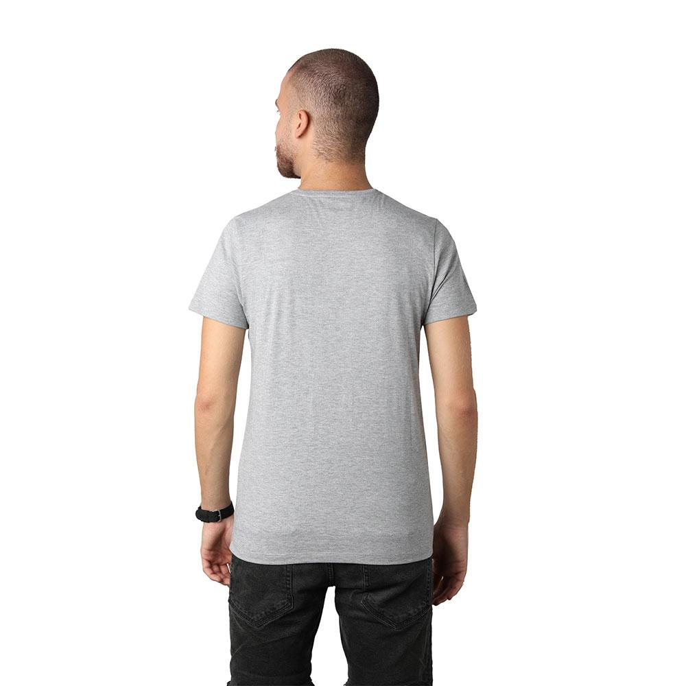 Beirut Burgundy on Grey Men's T-shirt
