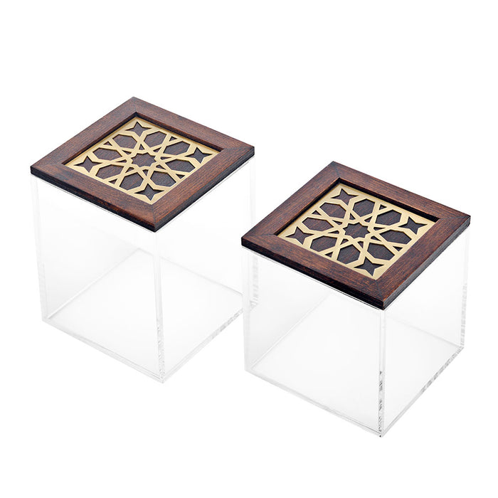 Square Moucharabieh Box - Medium