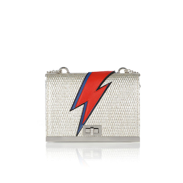 Bowie Shoulder Bag - Silver