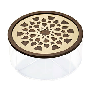 Round Moucharabieh Box - Medium
