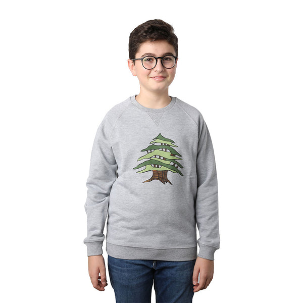 Cedar of Lebanon Kids Sweater