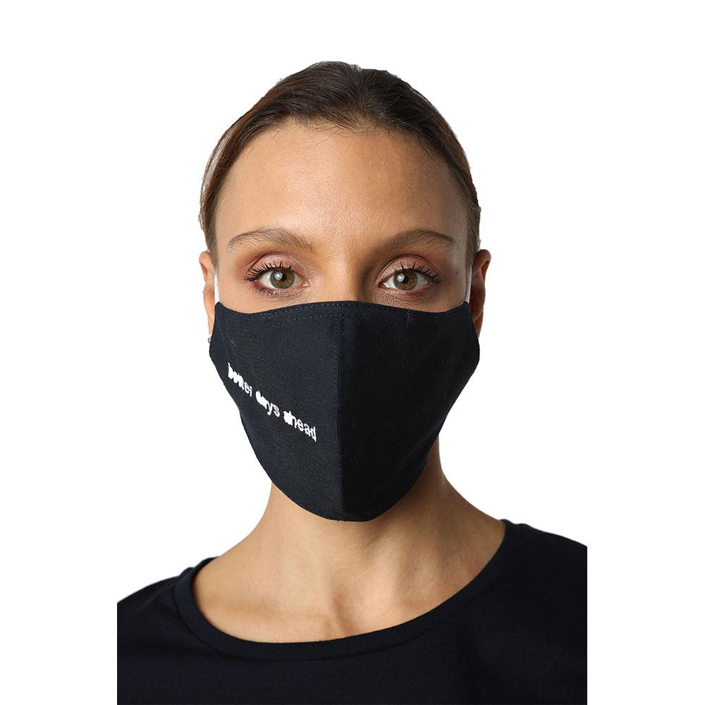 Better Days Ahead Navy Blue Reusable Face Mask