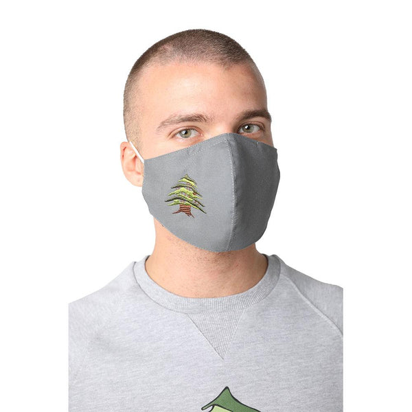 Cedar of Lebanon Grey Reusable Face Mask