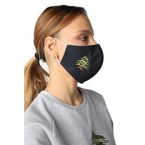 Cedar of Lebanon Navy Blue Reusable Face Mask