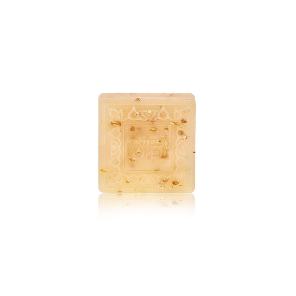 Almond Exfoliant Mini Ma'amoul Soap - Square