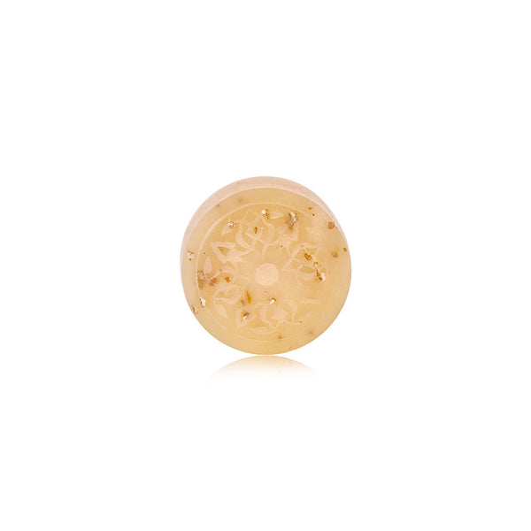 Almond Exfoliant Mini Ma'amoul Soap - Round