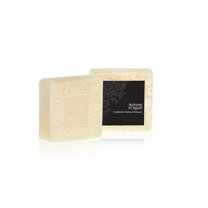Orange Blossom Mini Ma'amoul Soap - Square