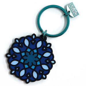 Rosace Key Ring