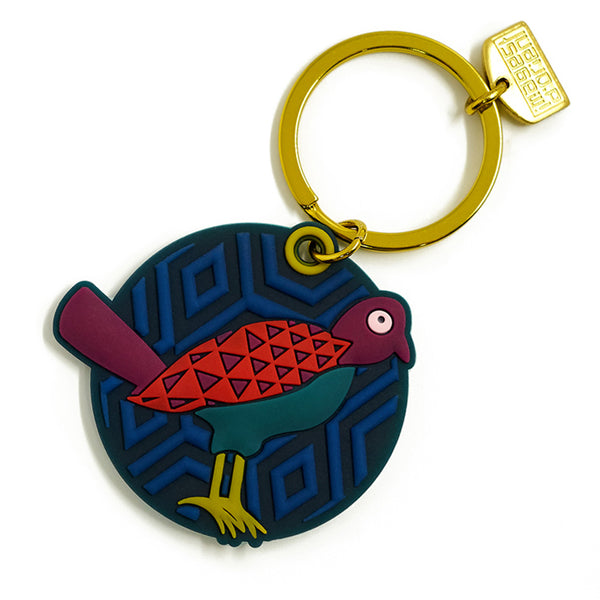 Birds of Paradise Key Ring
