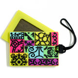 Patchwork Luggage Tag