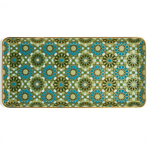 Andalusia Rectangle Plate 24x12cm