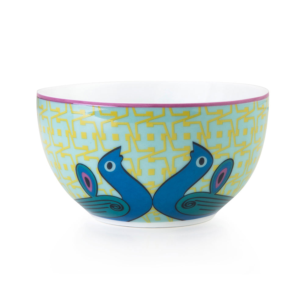 Birds of Paradise Porcelain Bowl 12cm