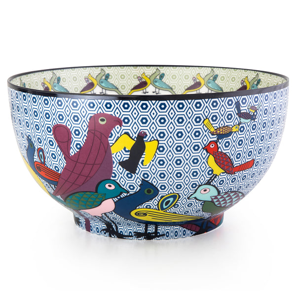 Birds of Paradise Porcelain Bowl 20cm