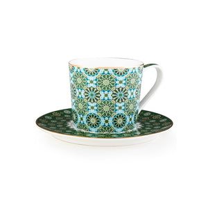 Andalusia Tea Cups - Set of 4