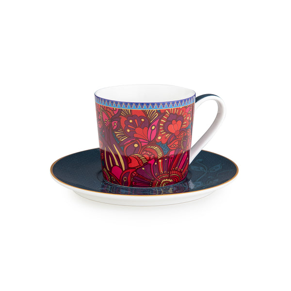 Kashmir Tea Cups - Set of 4