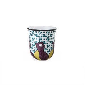 Birds of Paradise Coffee Cups 90 mL - Set of 6