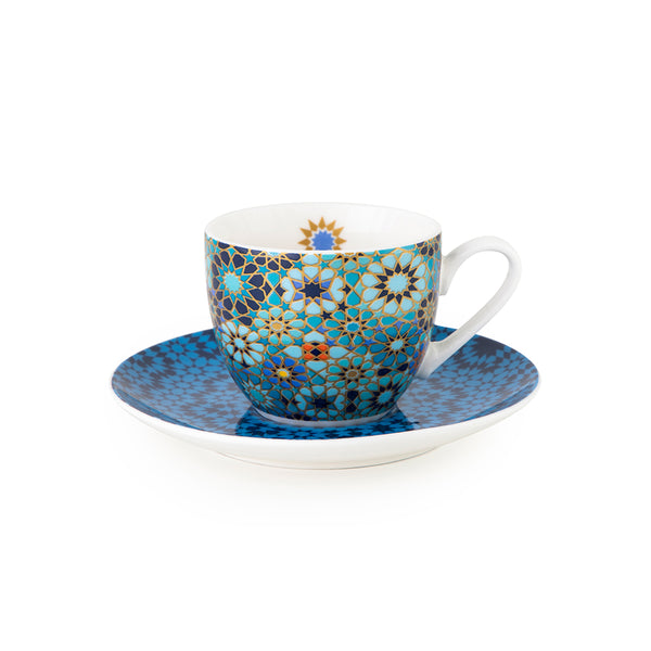 Moucharabieh Coffee Cups & Saucers - Set of 4