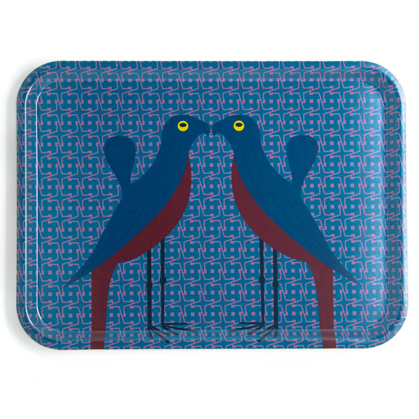 Birds of Paradise Rectangular Tray 46x34cm