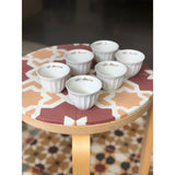 Olive Branch Chaffe Cups - Set of 6