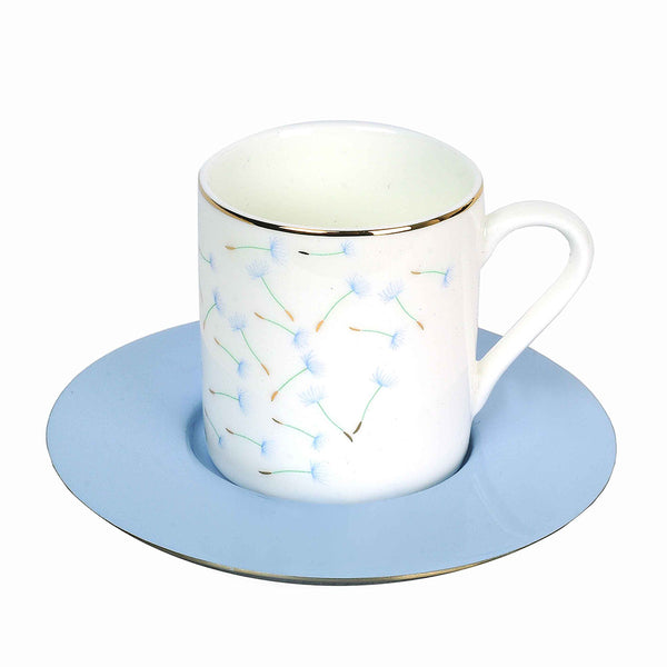 Floral Espresso Cups - Set of 6