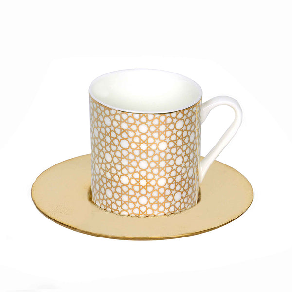 Arabesque Espresso Cups - Set of 6
