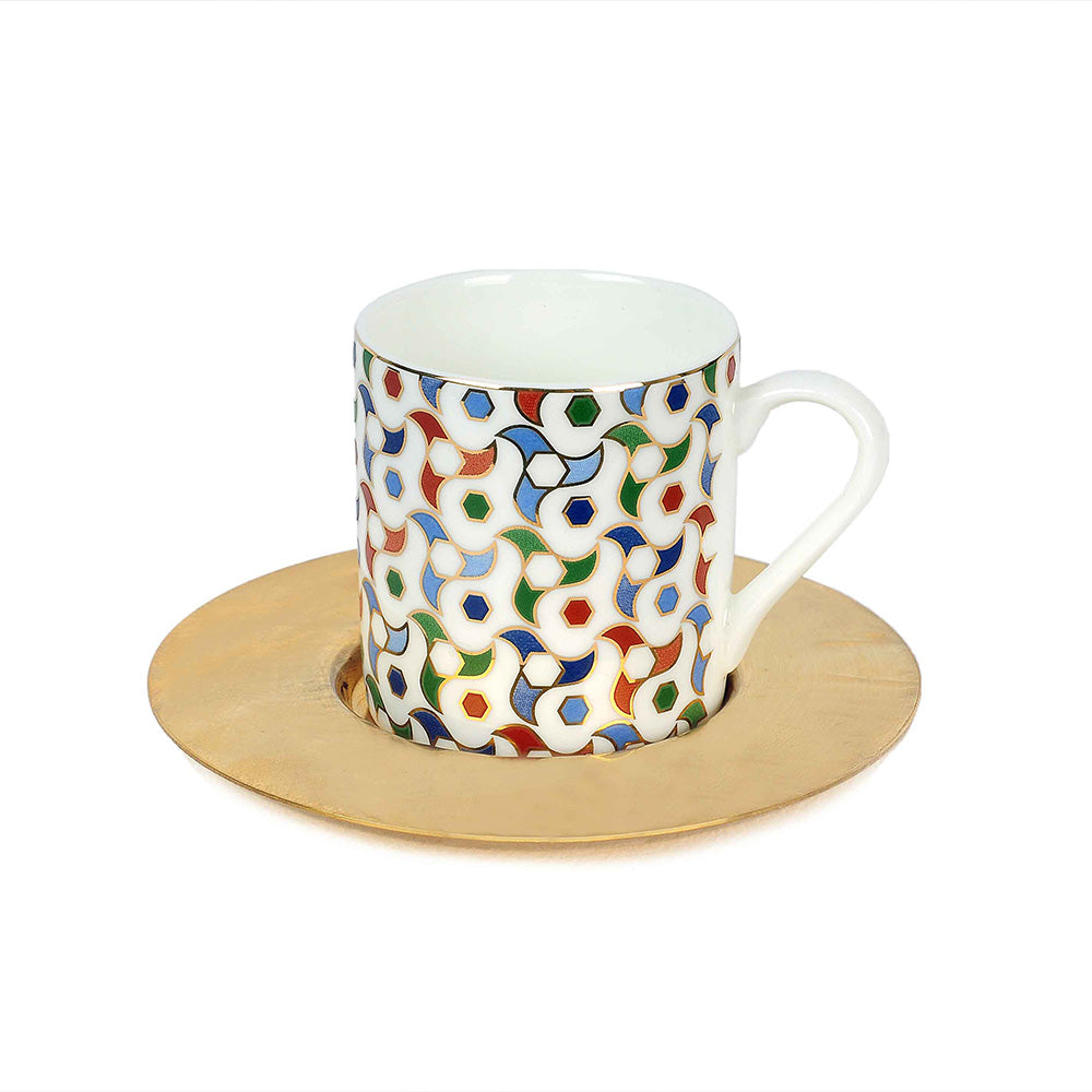 Spin Espresso Cups - Set of 6