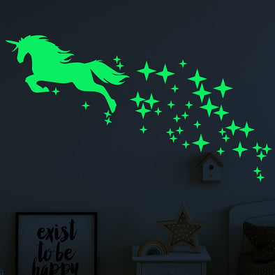 Unicorn Luminous Wall Sticker