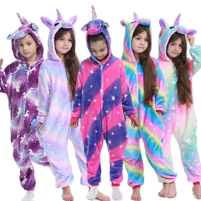 Unicorn Pajamas For Children