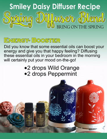Smiley Daisy - Aromatherapy Energy Booster