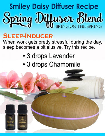 Smiley Daisy Aromatherapy Recipe - Sleep Inducer